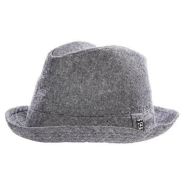 Шляпа Globe Bebida Fedora Black<br><br>Цвет: серый<br>Тип: Шляпа<br>Возраст: Взрослый<br>Пол: Мужской