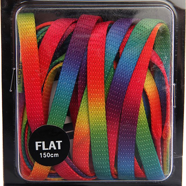 Шнурки Globe Rainbow Flat Lace Rainbow от Proskater