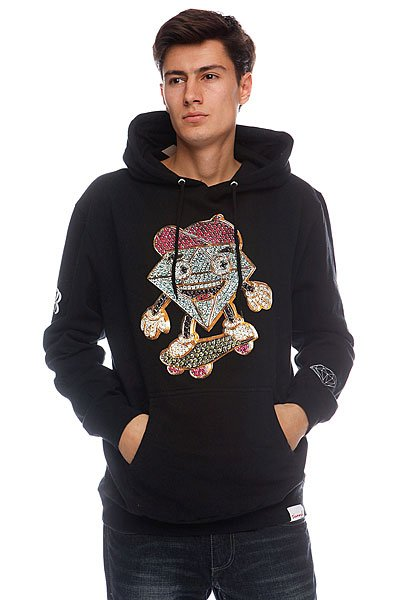 Кенгуру Diamond Black Lil Cutty X Ben Baller Hoodie