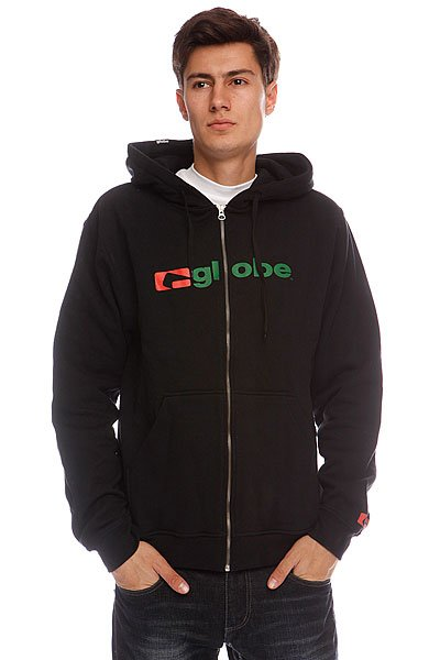 Толстовка Globe Branded Zip Hood True Black