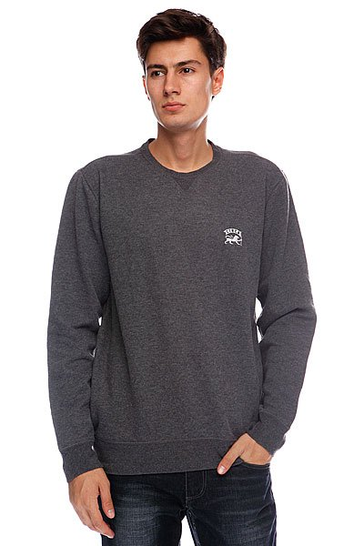 Свитшот Circa Hoax Crew Fleece Charcoal Heather