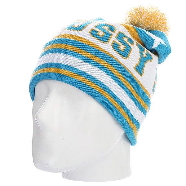 ����� � �������� Stussy All-star Pom-pom Beanie Blue<br><br>����: �������<br>���: �����<br>�������: ��������