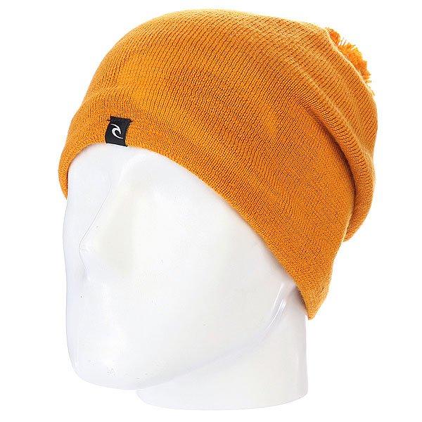 Шапка с помпоном Rip Curl Ultimate Cham Beannie Sunflower<br><br>Цвет: оранжевый<br>Тип: Шапка<br>Возраст: Взрослый
