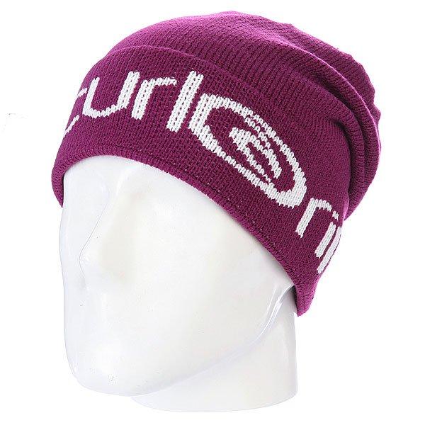 Шапка с помпоном Rip Curl Heritage Women Beanie Magenta Purple<br><br>Цвет: фиолетовый<br>Тип: Шапка<br>Возраст: Взрослый