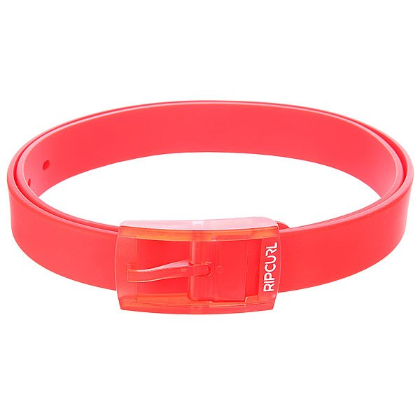 ������ Rip Curl Rc Silicone Belt Fluro Red