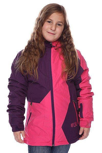Куртка детская Rip Curl Contorsia Jr Jacket Fuschia Rose