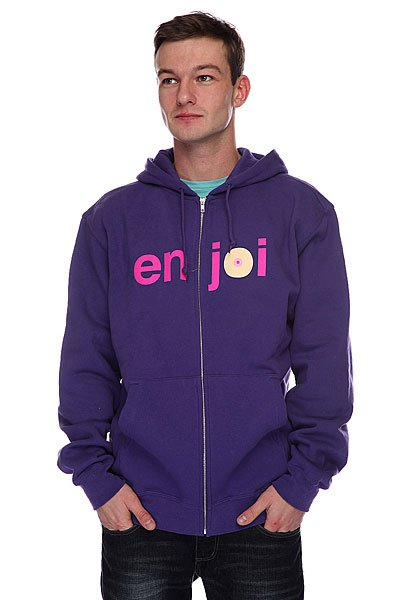 Толстовка Enjoi Boobie Hood Purple футболка enjoi outlines purple