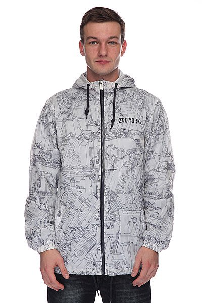 Куртка зимняя Zoo York Sketchy City Navy<br><br>Цвет: белый<br>Тип: Куртка<br>Возраст: Взрослый<br>Пол: Мужской