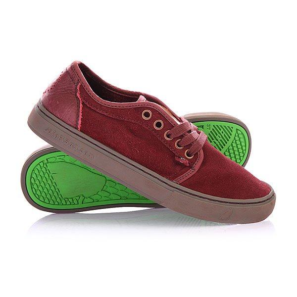 Купить Обувь   Кеды кроссовки низкие Satorisan Suede Rosewood