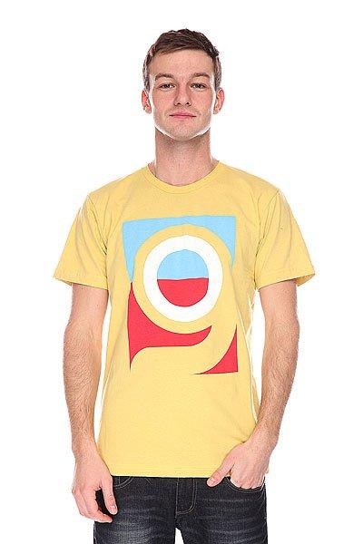Футболка  Logo Yellow Orangatang. Цвет: желтый