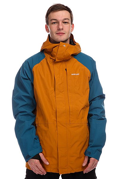 Куртка Quiksilver Cver Jacket Sudan Brown