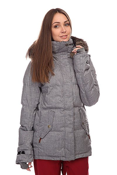 Куртка женская Roxy Quinn Jacket Anthracite