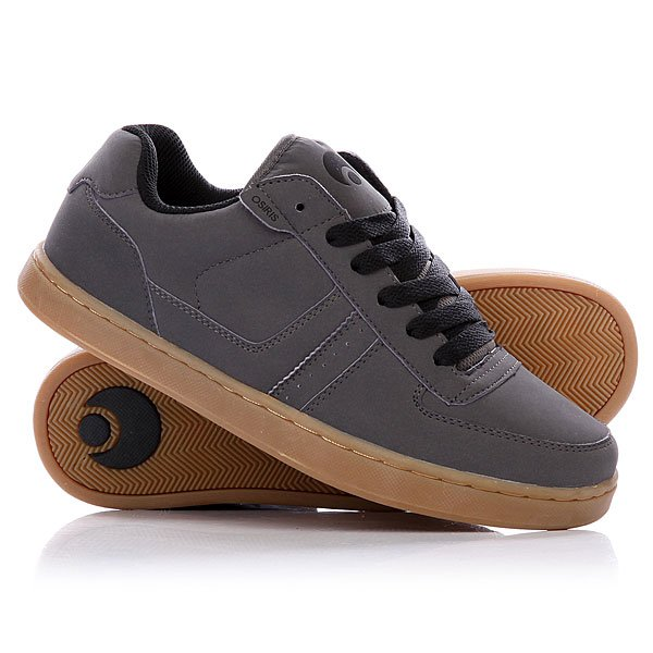 Кеды кроссовки Osiris Relic Charcoal/Black/Gum