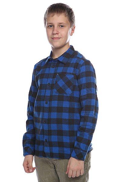 Рубашка в клетку детская Quiksilver Gulls Youth Olympian Blue
