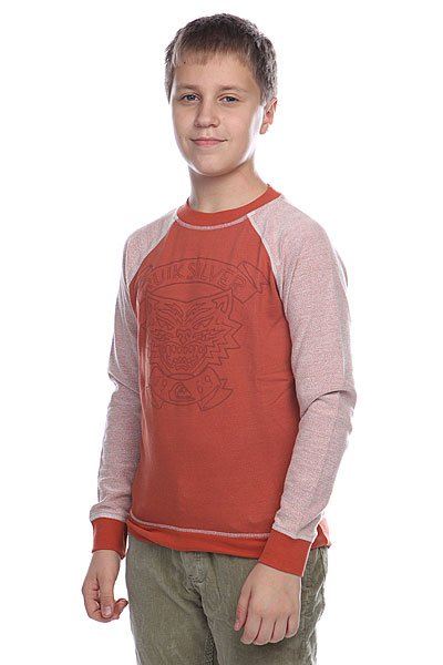 Джемпер детский Quiksilver Lennox Youth Burnt Brick Orange