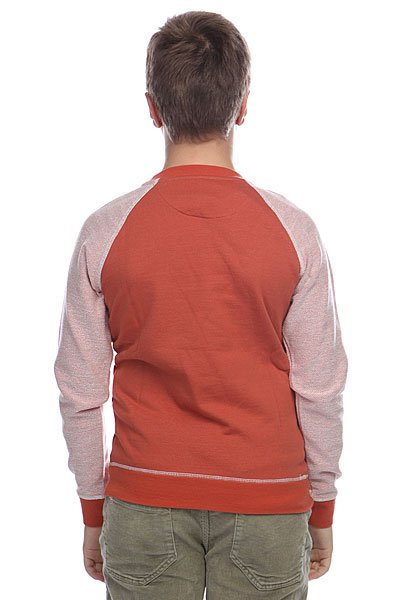 Джемпер детский Quiksilver Lennox Youth Burnt Brick Orange от Proskater