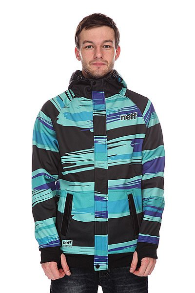 ��������� ��������������� Neff Painted Stripe Shred Black/Blue