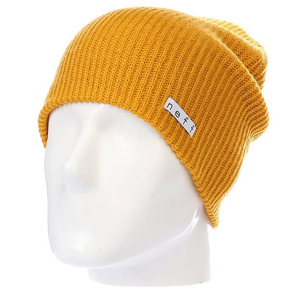 Шапка Neff Daily Mustart<br><br>Цвет: желтый<br>Тип: Шапка<br>Возраст: Взрослый