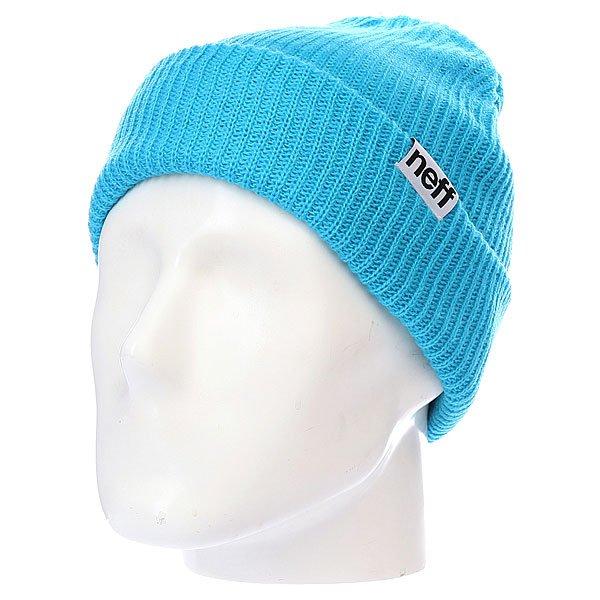 Шапка Neff Fold True Cyan<br><br>Цвет: голубой<br>Тип: Шапка<br>Возраст: Взрослый