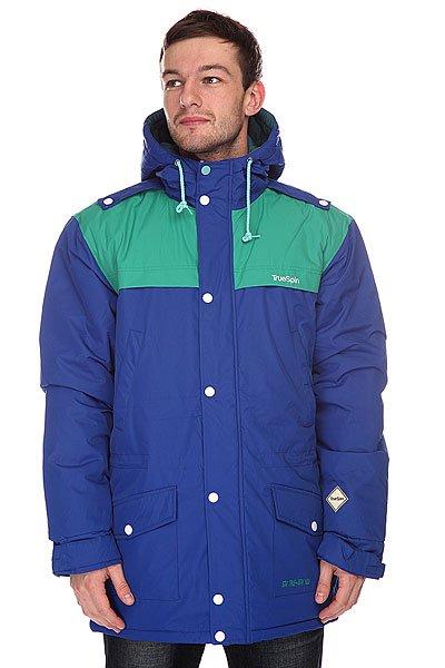 Куртка парка TrueSpin Fishtail Navy/Kelly куртка парка truespin fishtail burgundy