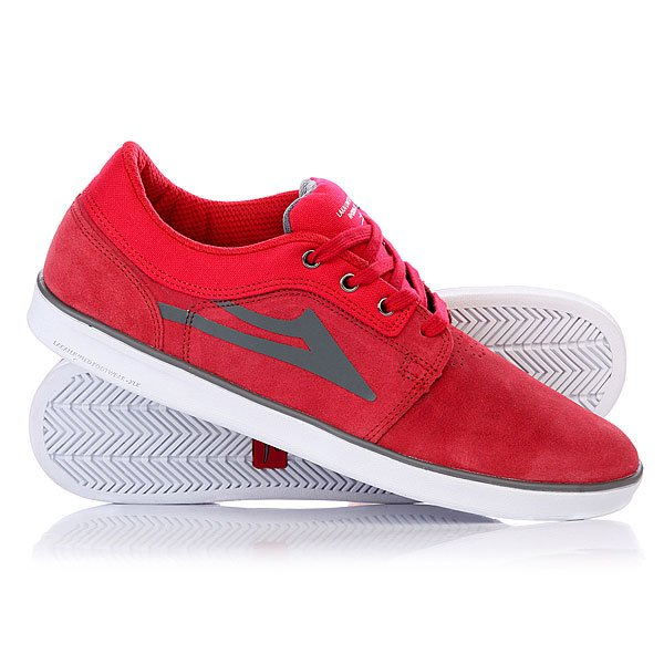 ���� ��������� ������ Lakai Howard Suede Red