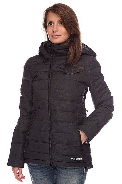 Куртка женская Volcom Ferguson Down Jacket Real Black