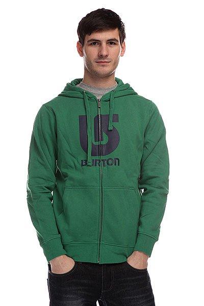 Толстовка Burton Logo Vert Fz Murphy<br><br>Цвет: зеленый<br>Тип: Толстовка классическая<br>Возраст: Взрослый<br>Пол: Мужской