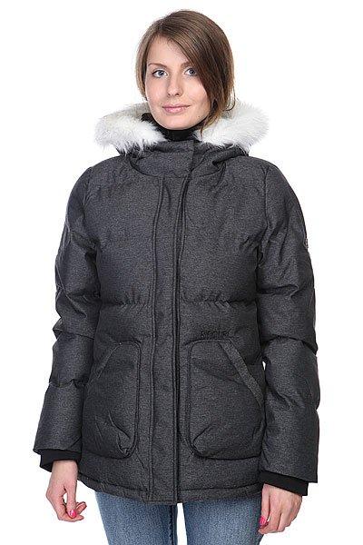 Куртка зимняя женская Rip Curl Oulu Jacket Black Marled