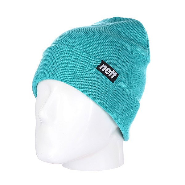 Шапка носок Neff Ryder Teal neff рубашка neff daily button up teal