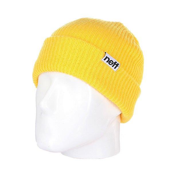 Шапка носок Neff Fold Neon/Yellow<br><br>Цвет: желтый<br>Тип: Шапка носок<br>Возраст: Взрослый