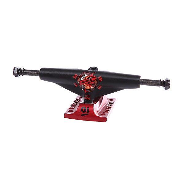 Подвеска для скейтборда 1шт. Tensor Mag Light Daewon Killer Koi Daewon 5 (19.7 см)Ширина подвесок: 5 (19.7 см)    Высота подвесок: 52 мм    Цена указана за 1 шт    Минимальное количество для заказа 2 шт<br><br>Цвет: черный,красный<br>Тип: Подвеска для скейтборда