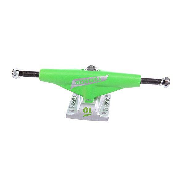 Подвеска для скейтборда 1шт. Tensor Mag Tens Flick Toxic Green 5 (19.7 см)Ширина подвесок: 5 (19.7 см)    Высота подвесок: 56 мм    Цена указана за 1 шт    Минимальное количество для заказа 2 шт<br><br>Цвет: белый,зеленый<br>Тип: Подвеска для скейтборда