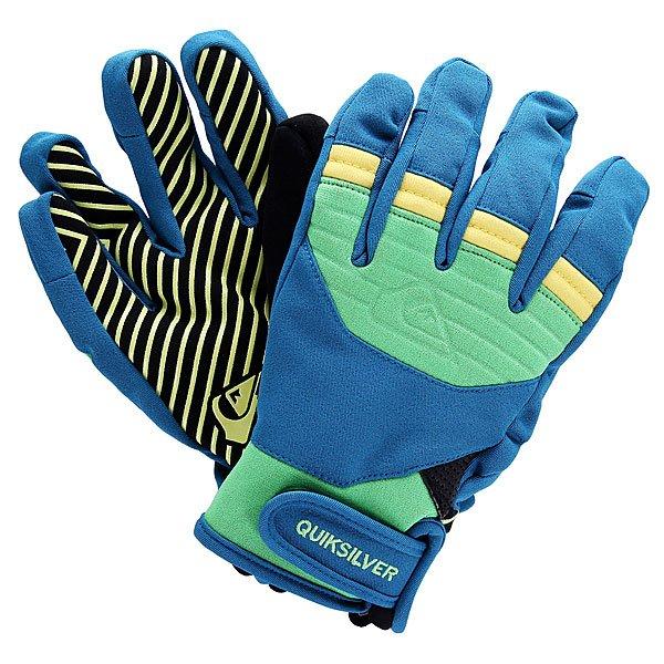 Перчатки сноубордические детские Quiksilver Method Youth Gloves Poison Green