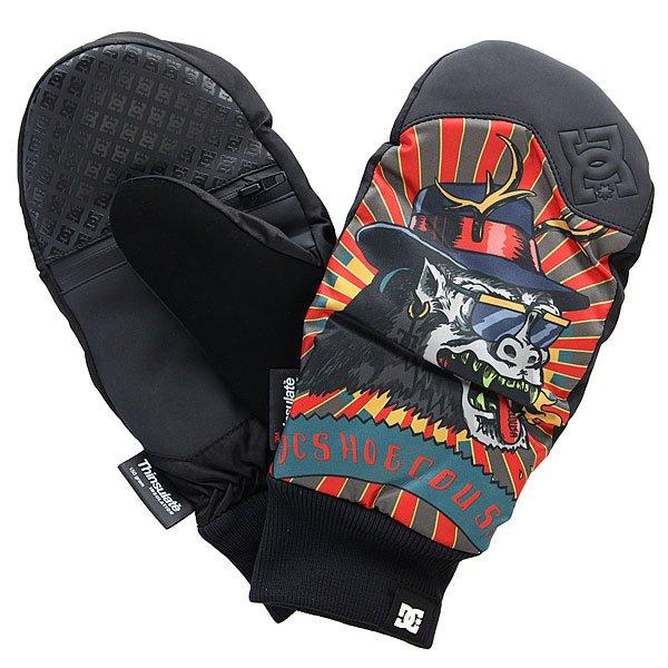 Варежки сноубордические DC Rippin Yeti