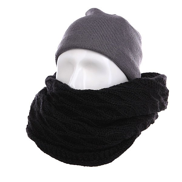 ���� ������� Burton Honeycomb Scarf True Black