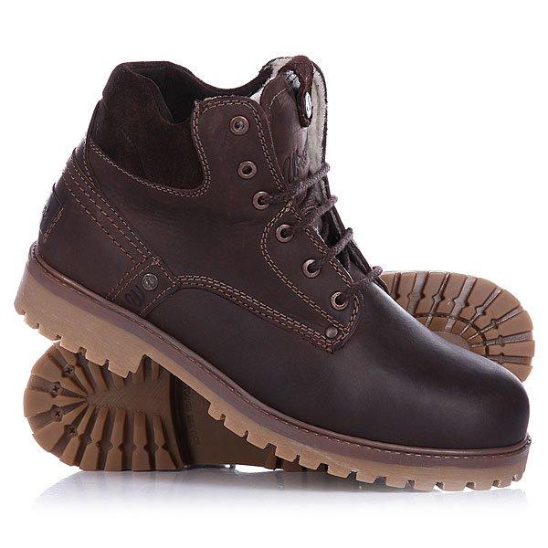 Ботинки зимние Wrangler Yuma Fur An Dark Brown ботинки timberland tbla1n4ew