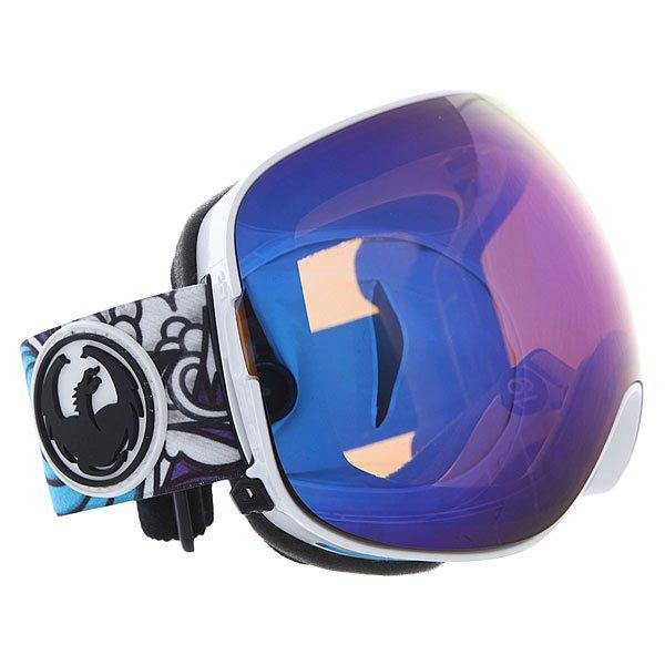 Маска для сноуборда Dragon Jamielynn/Blue Steel + Yellow Blue Ion X2