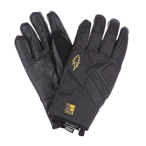 Перчатки сноубордические Pow Vandal Glove Black перчатки сноубордические dakine scout glove rasta