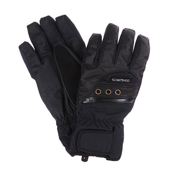 Перчатки сноубордические женские Pow Astra Glove BlackХарактеристики: Мягкая внутренняя подкладка из микрофлиса. Влагонепроницаемое внешнее покрытие Micro Twill DWR.  Внутренний наполнитель 3M Thinsulate  - 100 гр. Мягкая флисовая нашивка на большом пальце для протирания очков. Фиксирующий ремешок-карабин для дополнительной фиксации.  Небольшой кармашек для мелочей.Дополнительная накладка на липучке для фиксации.<br><br>Цвет: черный<br>Тип: Перчатки сноубордические<br>Возраст: Взрослый<br>Пол: Женский