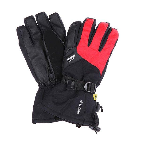 Перчатки сноубордические Pow Long Glove Red перчатки сноубордические dakine scout glove rasta