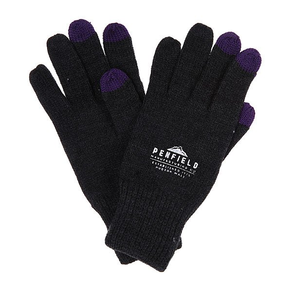 Перчатки Penfield Nanga/Knitted E-touch Glove Dark Grey Melange