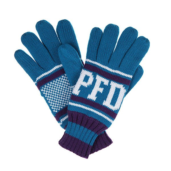 Перчатки Penfield Lalo/Pfd Knitted Glove Cyan