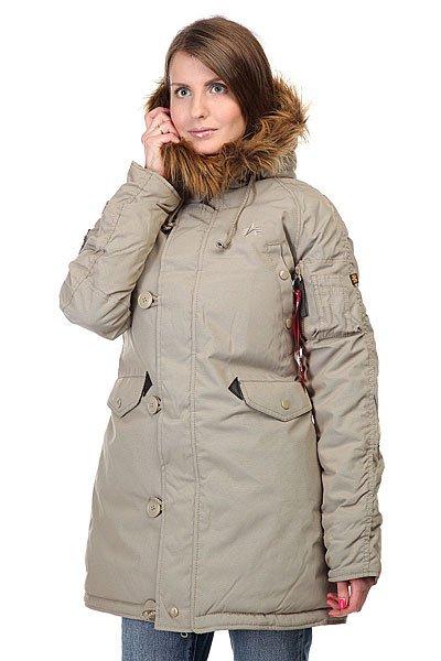 Куртка парка женская Alpha Industries Explorer Khaki