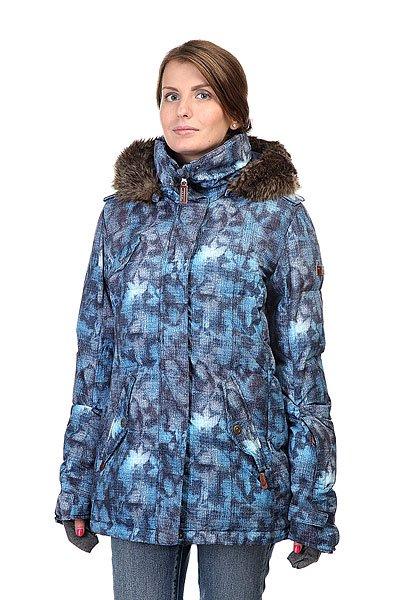 Куртка женская Roxy Quinn Jacket Peacoat