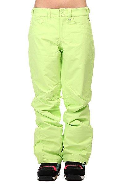 Штаны сноубордические женские Roxy Backyards Pt Sharp Green