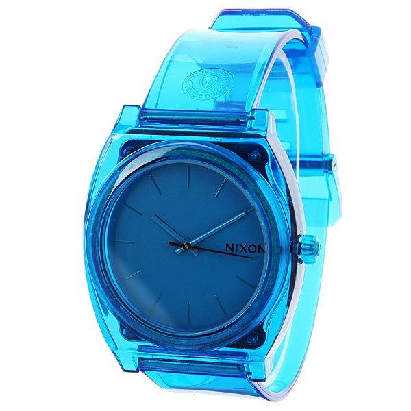 где купить Часы Nixon Time Teller P Translucent Blue по лучшей цене