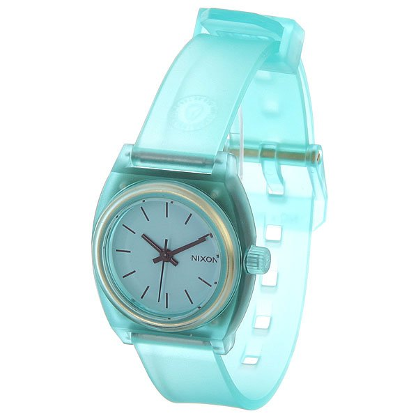 Часы женские Nixon Small Time Teller P Translucent Mint