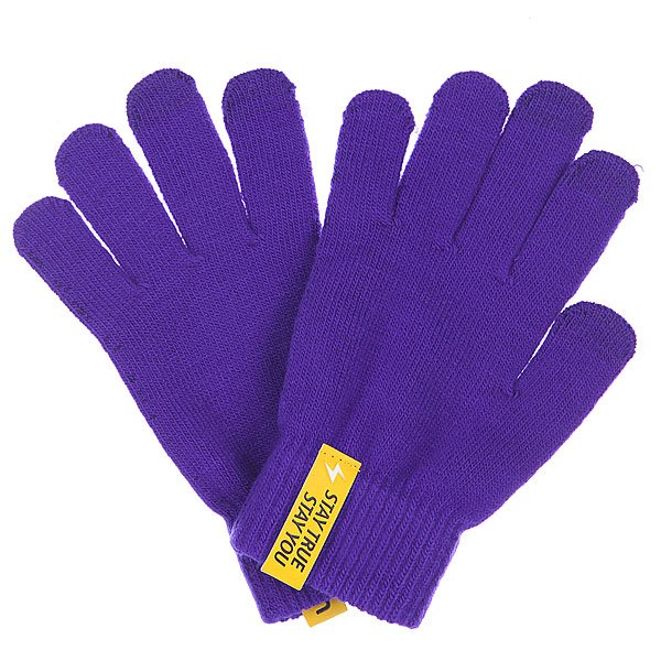 Перчатки TrueSpin Touchgloves Purple