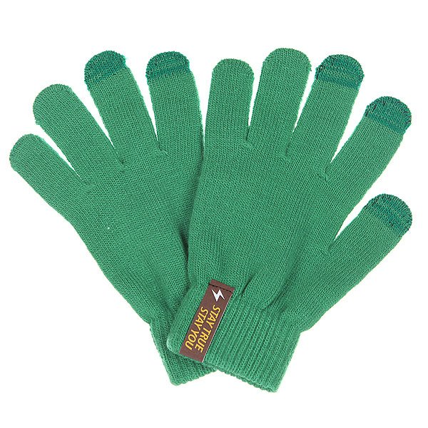Перчатки TrueSpin Touchgloves Green