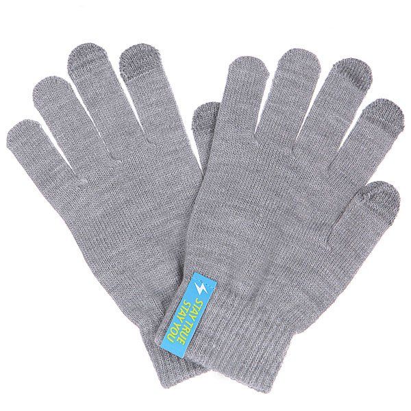 Перчатки TrueSpin Touchgloves Light Grey